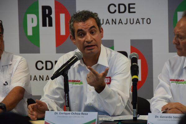 Vergüenza debería de darle a Márquez la situación de violencia: Enrique Ochoa