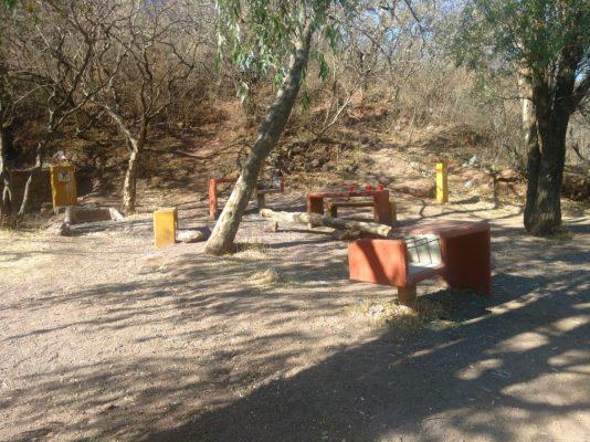 En el abandono presa de San Renovato