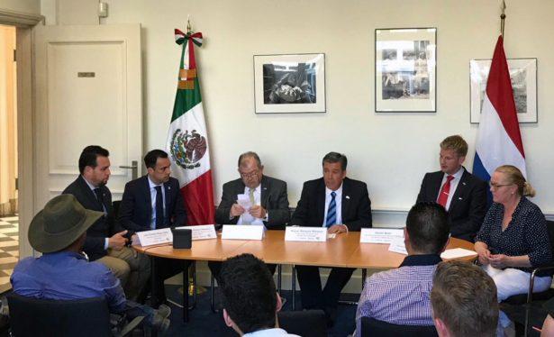 Intercambio agroindustrial de Guanajuato con Holanda