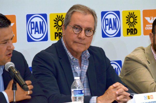 PAN prepara sanción contra Javier Usabiaga, quien mostró su apoyo a Meade
