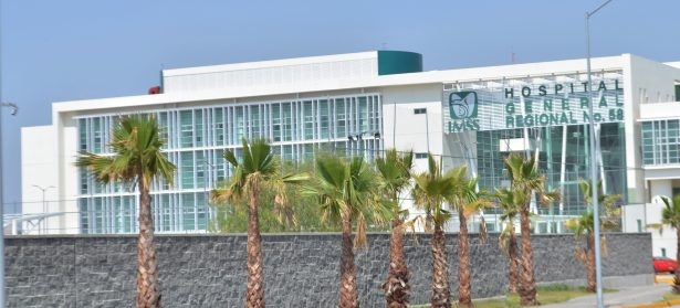Se aproxima la inauguración del hospital del IMSS