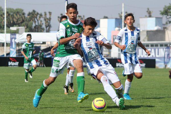 León Sub-13 avanzó a la final del Torneo Primaveral; se enfrentan a Morelia