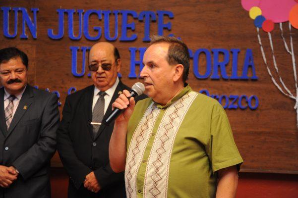 Sergio Campos Orozco, al rescate de los juguetes tradicionales mexicanos