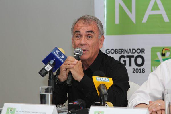 Cuestiona abanderado del Partido Verde Ecologista duración del Programa Escudo