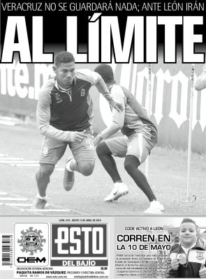Edición digital del ESTO del Bajío Jueves 12 de Abril 2018
