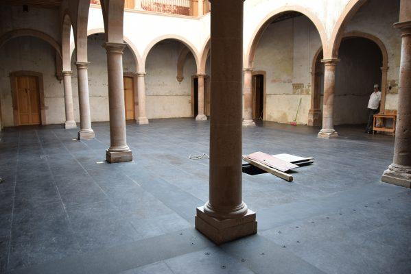 Renace imponente la Plaza de Gallos