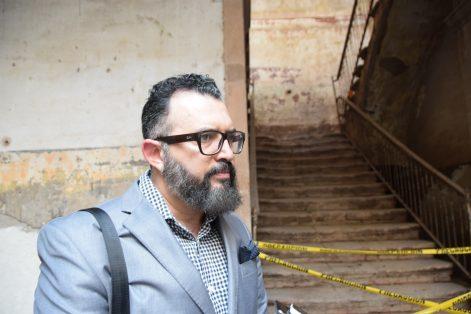 Carlos María Flores, director del Instituto Cultural de León.