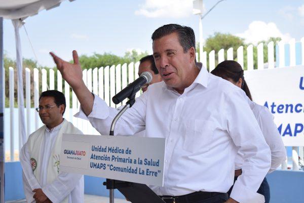 La salud de los guanajuatenses es prioritaria para vivir bien: Miguel Márquez Márquez