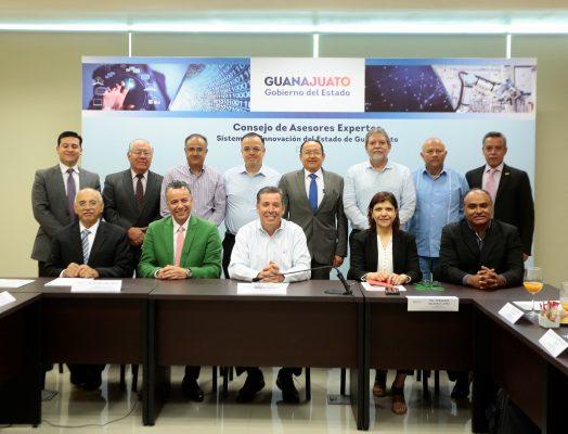 Reconoce Gobernador labor del Consejo de Asesores Expertos de Innovación en el desarrollo de Guanajuato