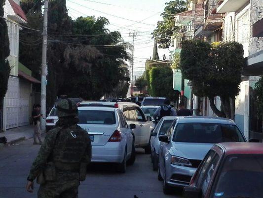 Catean vivienda y camioneta en Santa María del Granjeno