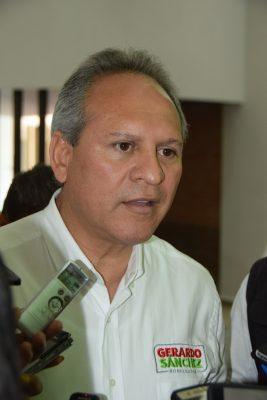 Gerardo Sánchez prioriza movilizaciones sobre encuestas