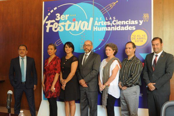 Presentan Tercer Festival de las Artes, Ciencias y Humanidades