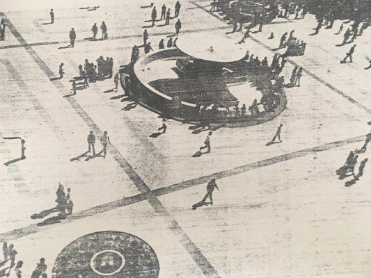 La Fuente de los Leones un ícono en la ciudad