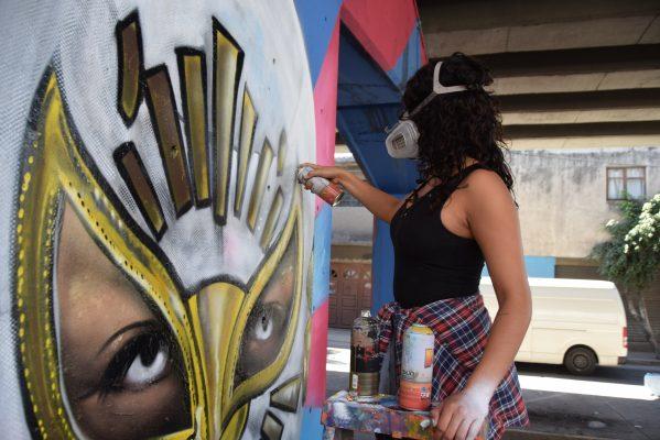 Promoverán a grafiteros urbanos en el extranjero
