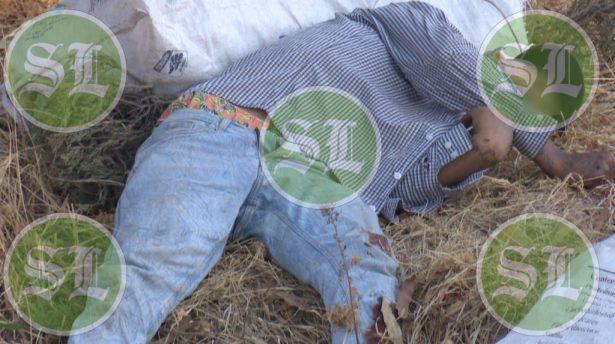 Sin identificar hombre asesinado en arroyo Las Liebres