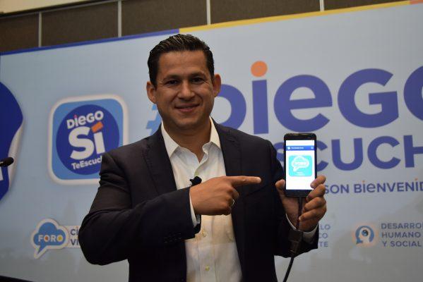 Presenta Diego plataforma digital