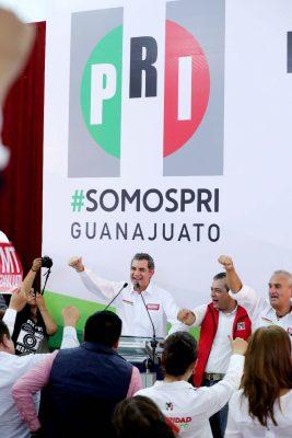 José Antonio Meade y Gerardo Sánchez combatirán la inseguridad en México y en Guanajuato, asegura Enrique Ochoa