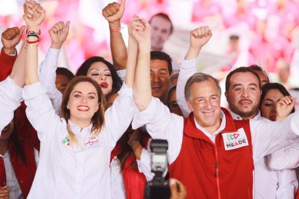 Pepe Meade y Azul Etcheverry se comprometen con el progreso y bienestar de Guanajuato