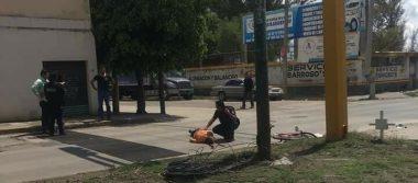 Fallece ciclista atropellado en Timoteo Lozano