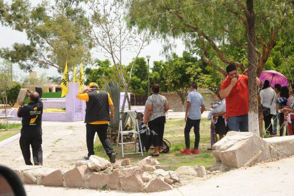 Desairan cierre de campaña de Guadalupe Torres Rea