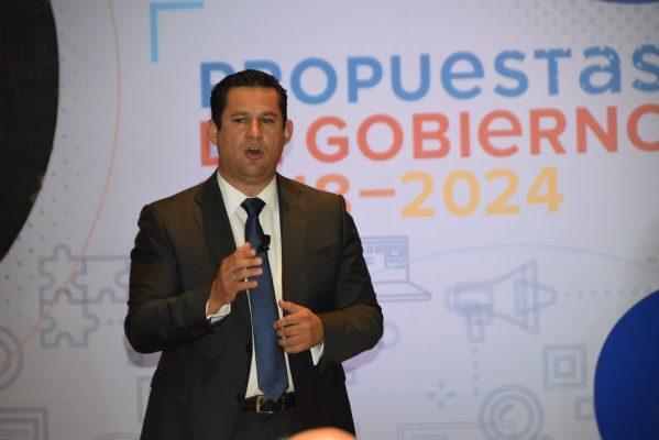 Diego Sinhué hace recuento de propuestas