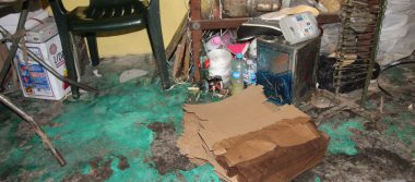 Fuerte lluvia dejó al menos dos viviendas y un taller de calzado con afectaciones
