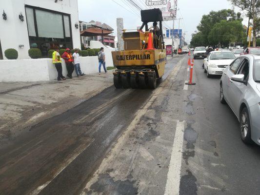 Inicia SOP reparación de bulevar Mariano Escobedo en León