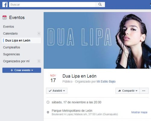 ¿Habrá concierto de Dua Lipa en la ciudad de León?