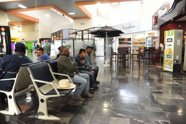 Se incrementa afluencia de pasajeros en AIG