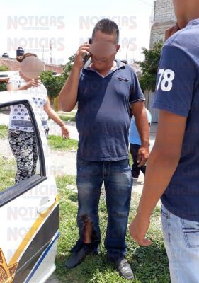 Machetean a taxista tras intentar huir luego de atropellar a un niño
