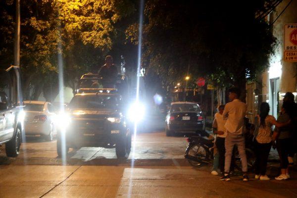 Noche de balas en León