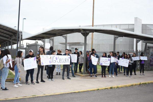 Estudiantes piden Universidad Segura