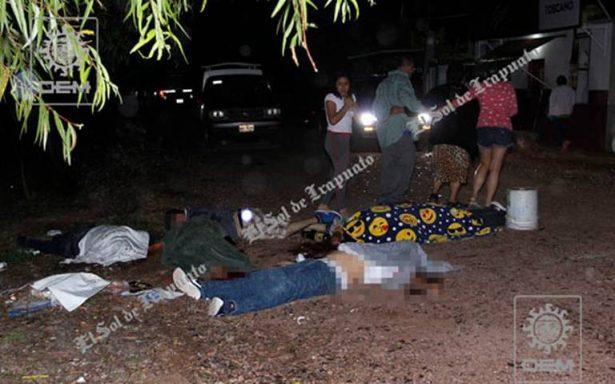 ¿Quién asesinó a las cinco víctimas en Pénjamo?
