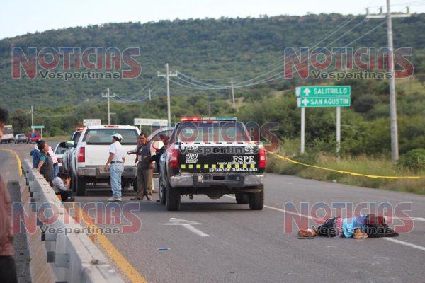 Atropellan y matan a motociclista en el Eje Metropolitano