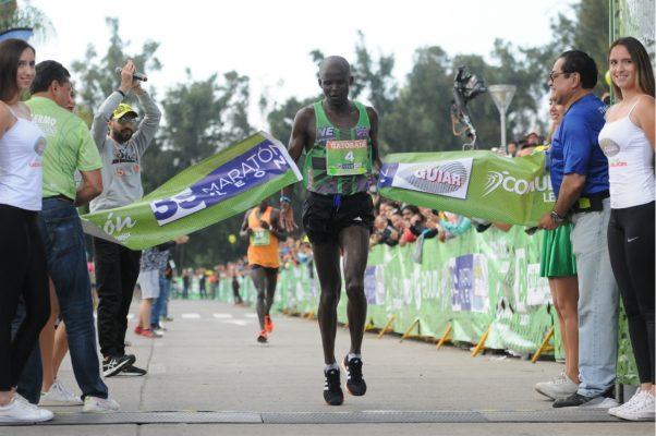 El keniano Christopher Kipyego se llevó el Maratón León 2018