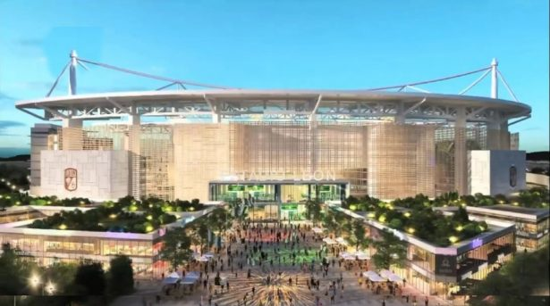 Presentan proyecto de nuevo estadio de León