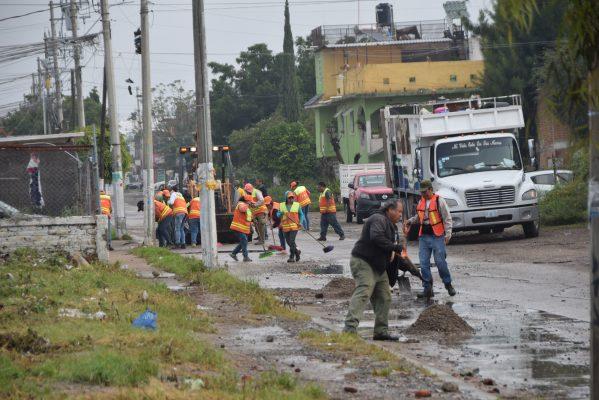 Recogen 200 toneladas de basura en la zona sur de la ciudad