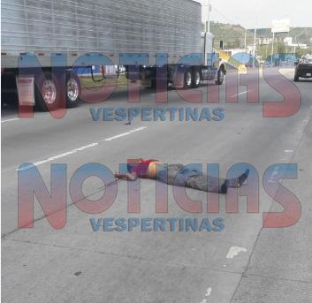 Muere atropellado en el Eco-bulevar, a metros de un puente peatonal