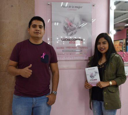 Plaza de la Mujer invita a prevenir el cáncer de mama