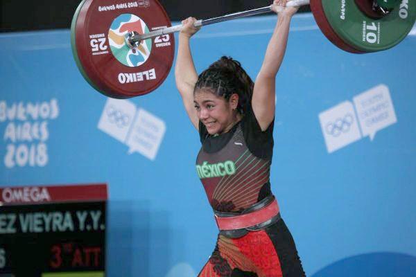 Yesica Yadira Hernández gana medalla de oro en Juegos Olímpicos de la Juventud