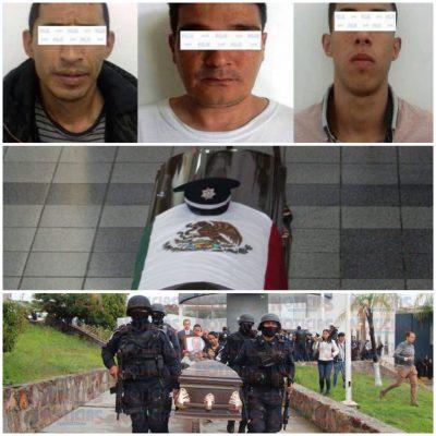 Capturan a homicidas de comandante Báez Tapia