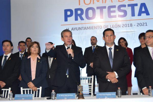 Trabajará con cinco objetivos Alcalde León