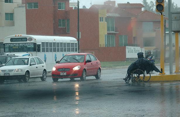 Pronostican tormentas locales fuertes en Puebla, Veracruz y Oaxaca