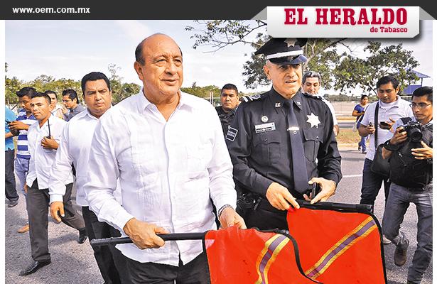 Vigilarán a Tabasco 300 agentes de la gendarmería