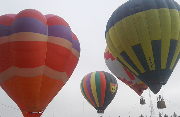 Arrancó en Metepec el Globo Aero Fest