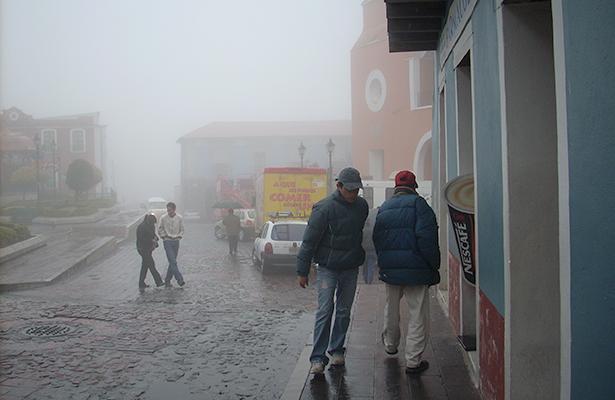 Frente frío provocará descenso en temperatura en gran parte del país