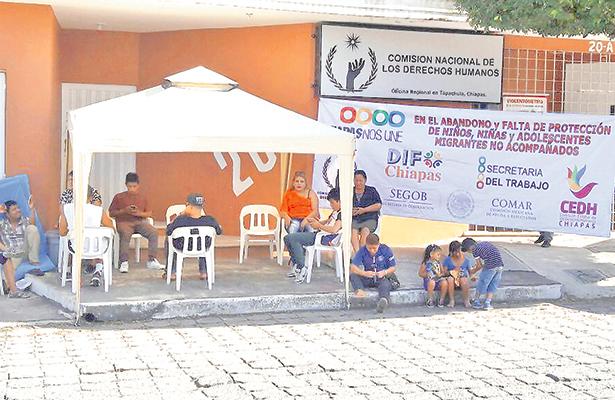 Acusan a la CNDH de tolerar explotación infantil en Chiapas