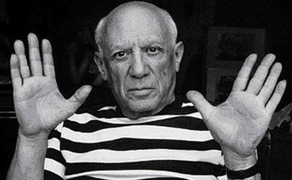 Salvan boceto de Picasso de terminar en la basura
