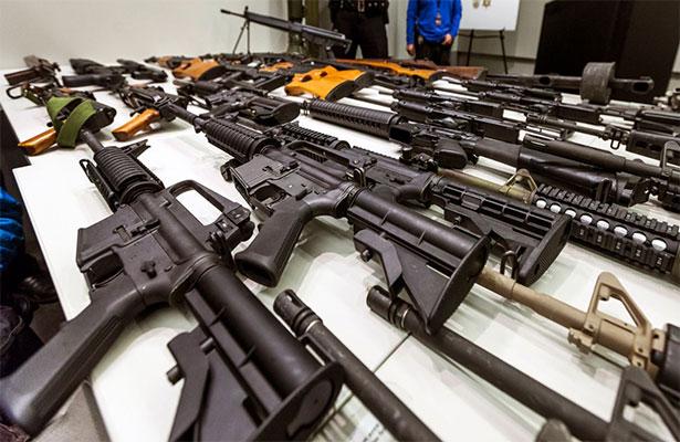 Criminales poseen un  sofisticado armamento, refleja potencial