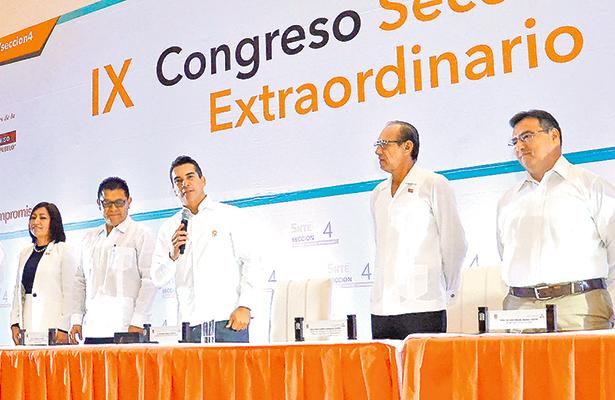Convoca Moreno Cárdenas al magisterio a trabajar en unidad